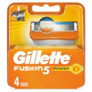 Gillette Fusion5 Power Razor Blades For Men, 4 Refills