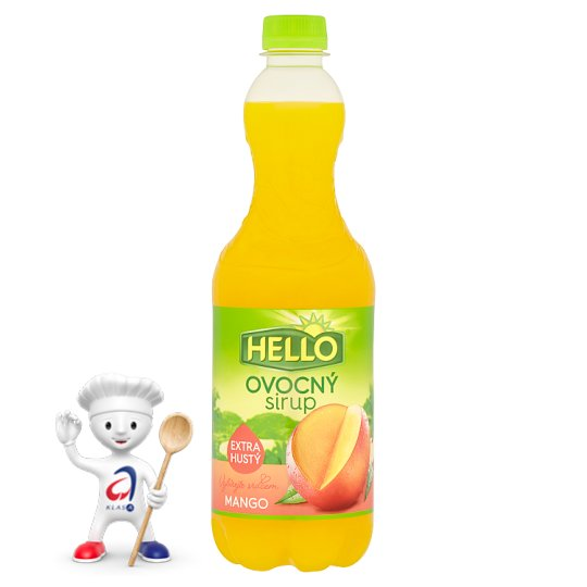 Hello Fruit Syrup Multivitamin 0.7L