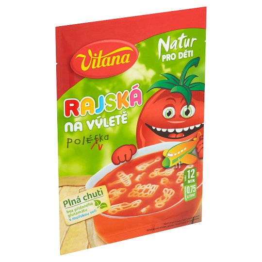 Vitana Natur for Children Tomato Soup on a Trip 99g