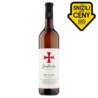 Templářské Sklepy Čejkovice Irsai Oliver bílé polosuché víno 0,75l