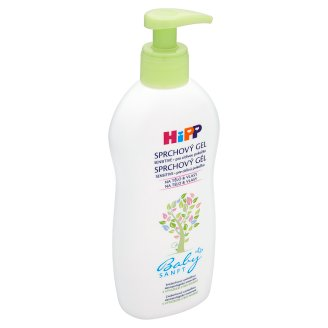 HiPP Babysanft Sprchový gel s výtažkem z bio mandlí pro citlivou pokožku 400ml