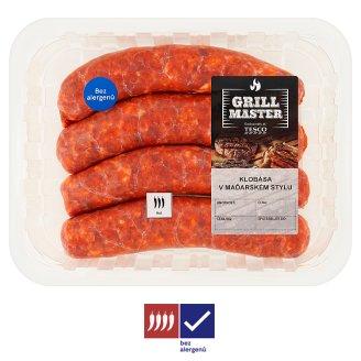 Tesco Grill Pork Paprika Sausages 0.4kg