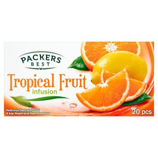 Packers Best Ovocný čaj s příchutí tropického ovoce 20 x 2g