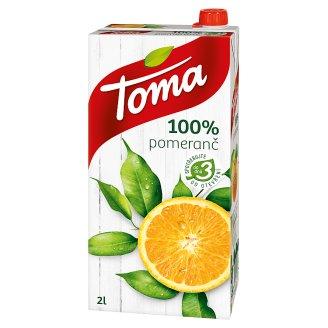 Toma 100% Pomeranč 2l