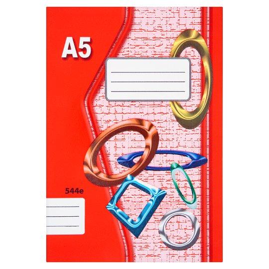 Papírny Brno 544e školní sešit A5 linkovaný 40 listů