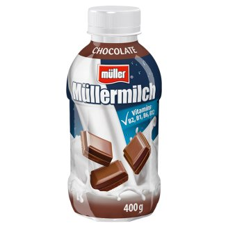 Müller Müllermilch Mléčný nápoj s čokoládovou příchutí 400g