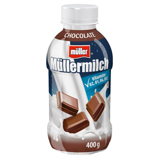 Müller Müllermilch Milk Drink with Chocolate Flavour 400g