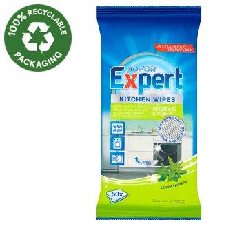 Go For Expert Lemon Verbena vlhčené čisticí ubrousky do kuchyně 50 ks