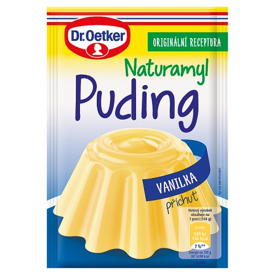 Dr. Oetker Naturamyl Pudding with Vanilla Flavour 37g