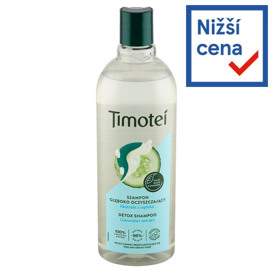 Timotei Svěžest 2v1 šampon s kondicionérem 400ml