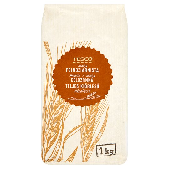 Tesco Whole Wheat Flour 1kg