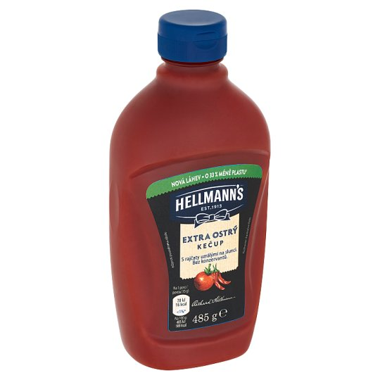 Hellmann's Ketchup Extra Spicy 485g