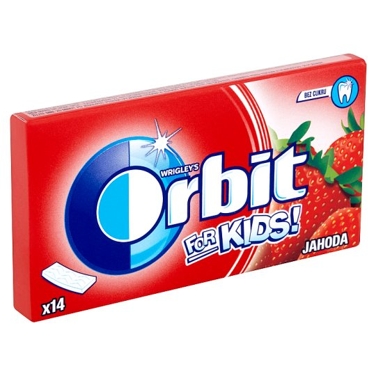 Wrigley's Orbit For Kids Strawberry 14 pcs 27g