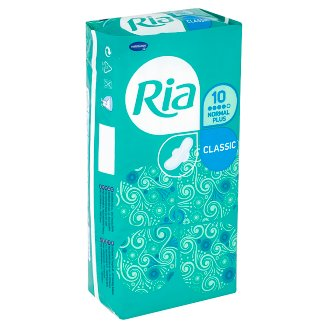 Ria Classic Normal Plus Sanitary Towels 10 pcs