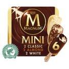 Magnum Mini Mix Classic, Almond and White zmrzlina 6 x 60ml