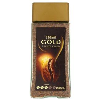 Tesco Gold Rozpustná káva sušená mrazem 200g