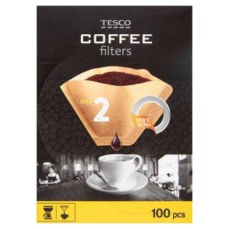 Tesco Coffee Filters Size 2 100 pcs