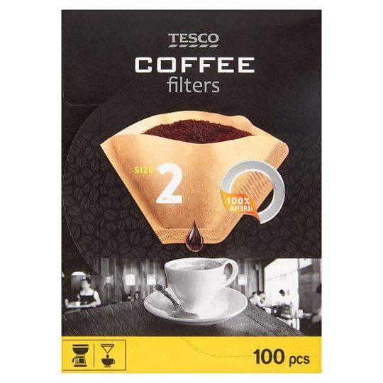 Tesco Kávové filtry velikost 2 100 ks