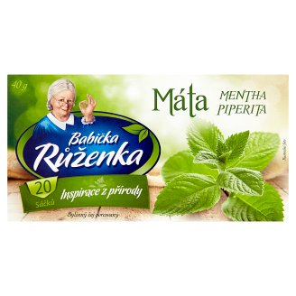 Babička Růženka Herbal Mint Tea 20 x 2g