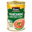 Hamé Trencan Fine Sausages with Beans 410g