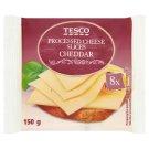 Tesco Sýr tavený plátkový Čedar 8 x 18,75g