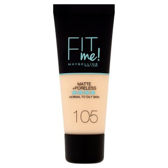 Maybelline New York Fit Me! Matte and Poreless Make-up 105 30ml