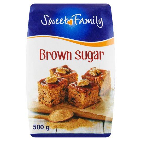 Sweet Family Cukr hnědý 500g