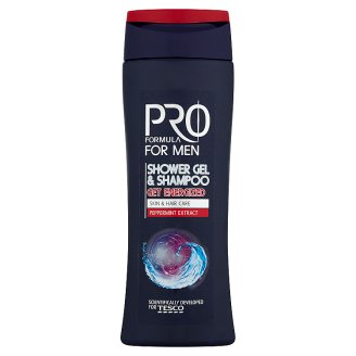 Tesco Pro Formula For Men Sprchový gel a šampón Get Energized 250ml