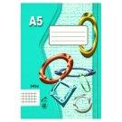 Papírny Brno 545e Workbook A5 40 Squared Pages