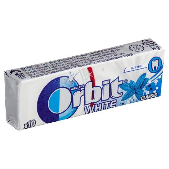 Wrigley's Orbit White classic 10 ks 14g