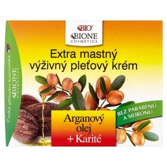 Bione Cosmetics Bio Arganový olej + karité extra mastný výživný pleťový krém 51ml