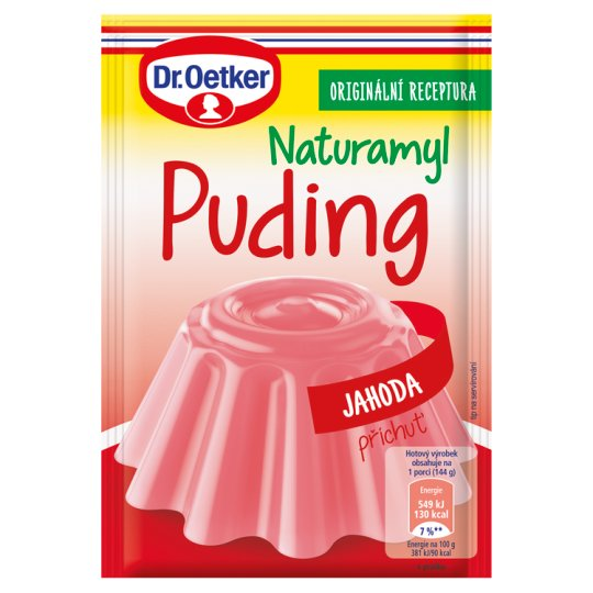 Dr. Oetker Naturamyl Pudding with Strawberry Flavour 37g