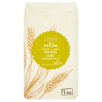 Tesco Smooth Spelled Wheat Flour 1kg