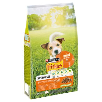 Friskies for Small Adult Dogs Mini Menu with Chicken and Vegetables 1.5kg