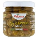 Valbona Capers in Acidic Liquid 100g