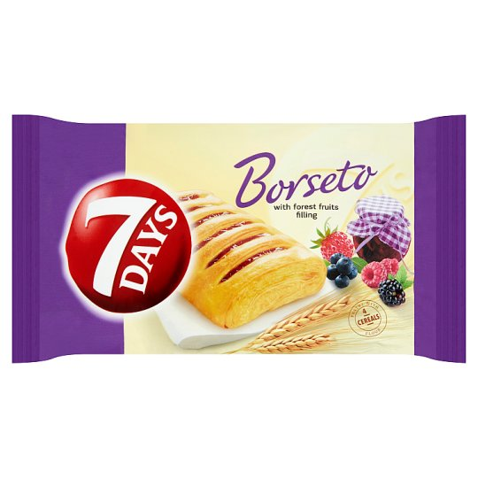 7 Days Borseto with Forest Fruits Filling 60g