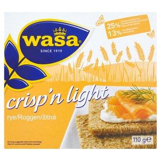Wasa Crisp'n Light Žitná 110g