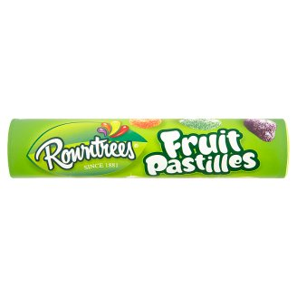 Rowntrees Sweets with Fruit Flavors 125g