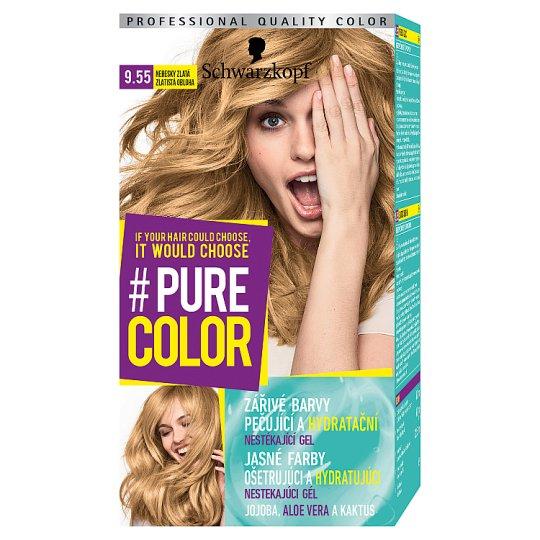 Schwarzkopf Pure Color barva na vlasy Nebesky Zlatá 9.55