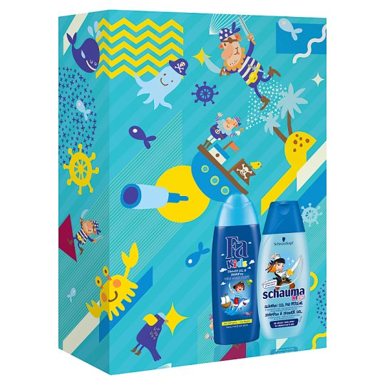 Multibrand Kids Christmas Gift Set Fa Kids Boy SG+Schauma Kids Boy SHP