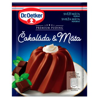 Dr. Oetker Premium Puding Čokoláda & máta 50g