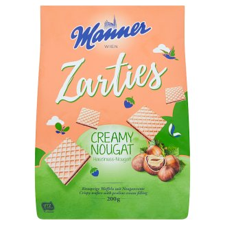 Manner Crispy Wafers Filled with Praline Creme 200g