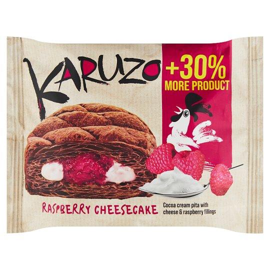 The Bakers Karuzo Kakaová pita z listového těsta s mascarpone a malinovou náplní 62g