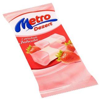 Metro dezert jahoda 120g