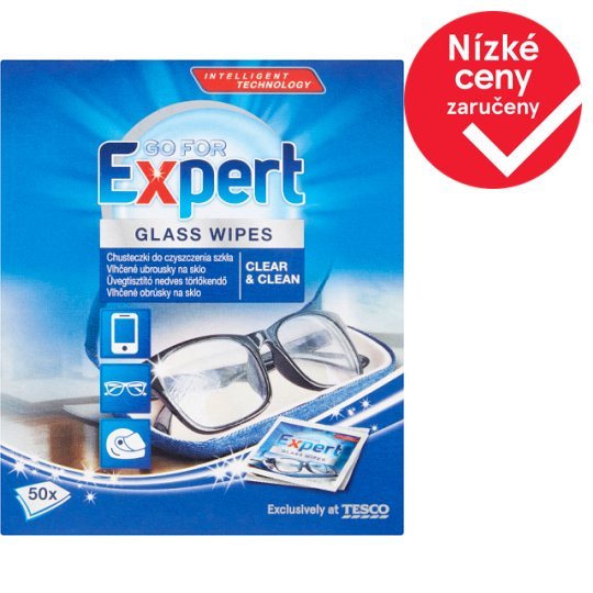 Go For Expert Glass Wipes 50 pcs