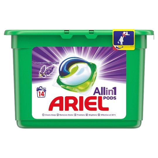 Ariel Lavender Kapsle Na Praní Prádla 3v1 14Praní