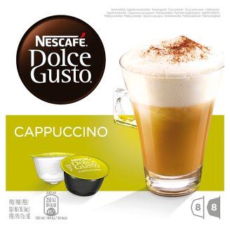 NESCAFÉ Dolce Gusto Cappuccino - kávové kapsle - 16 kapslí v balení