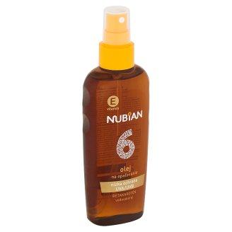 Nubian Olej na opalování s betakaroténem SPF 6 150ml