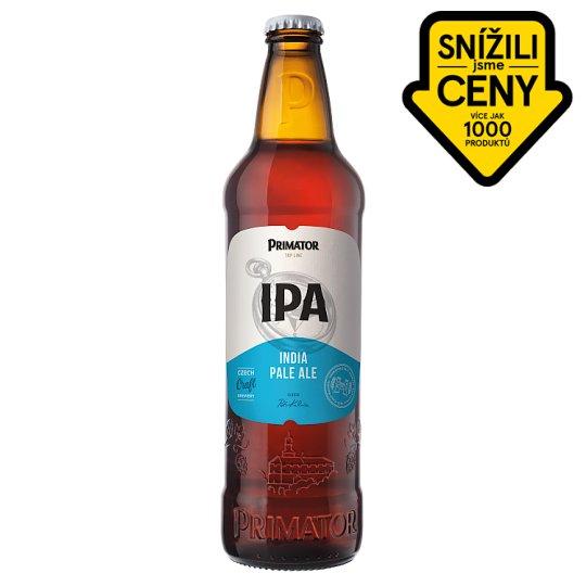 Primátor IPA polotmavé svrchně kvašené speciální pivo 0,5l