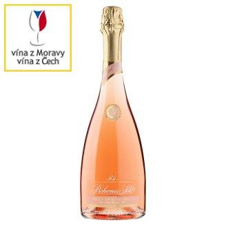 Bohemia Sekt Prestige Rose brut jakostní šumivé víno růžové 0,75l